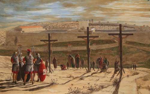 donde crucificaron a Jesús de Nazaret 2
