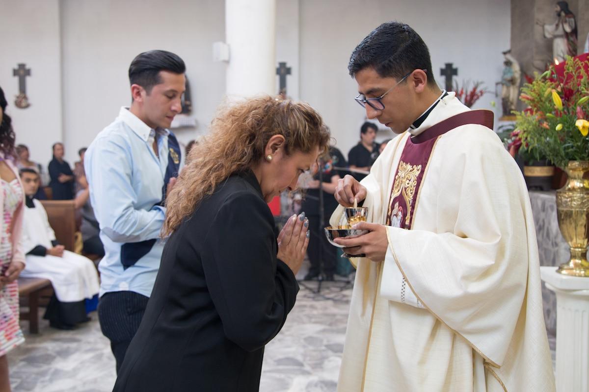 oraciones después de comulgar