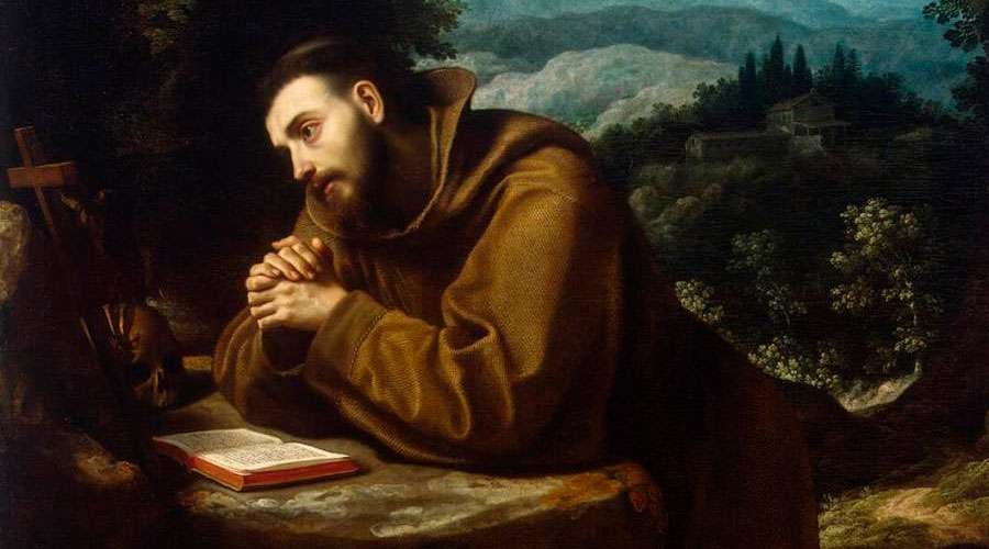 prayer to Saint Francis of Assisi for lost animals