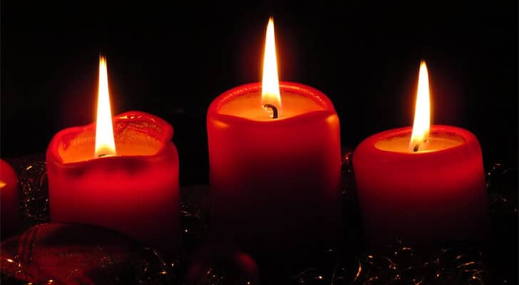 candles for love