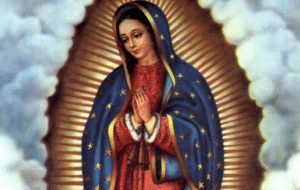 Jaculatorias a la virgen de Guadalupe